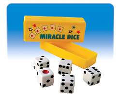 Miracle Dice (sarı zar kutusu)