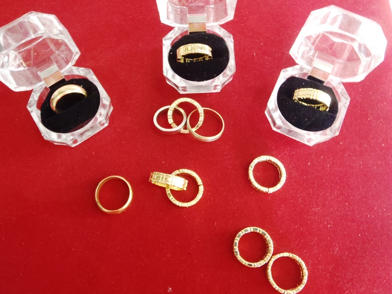 Mental yüzük.--- Himber ring..iki adet bir arada..