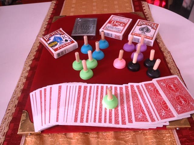Seçilen kartı bulan Sihirli Pompa oyunu..