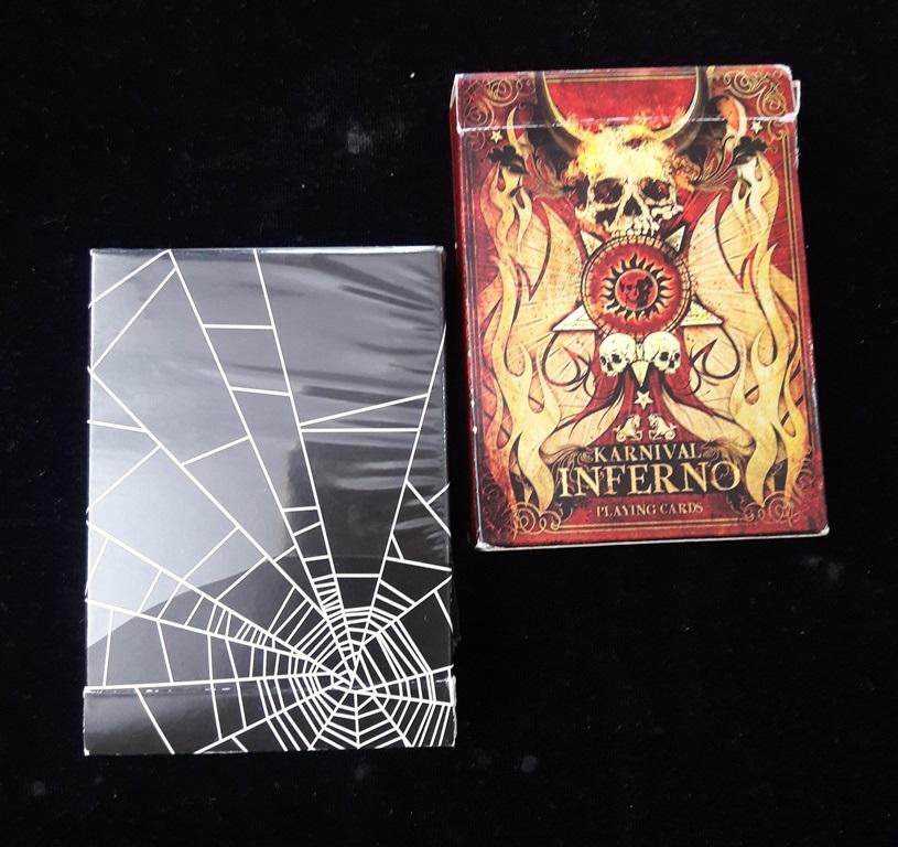 karnival inferno..örümcek ağı.2 kolleksiyon deste