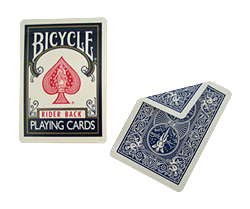 Bicycle Double Back (Blue-Red)