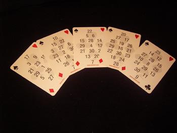 Sayı bulma kartları