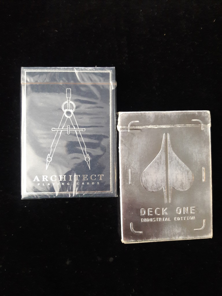 Deck one  ..Archıtect plyıng cards.