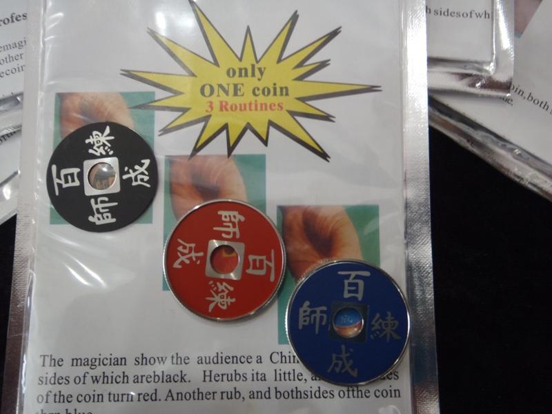 Chines Coin Color Change-Renk değiştiren  Çin para