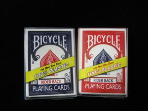 BICYCLE - NEW ERA DECK 100% Plastic