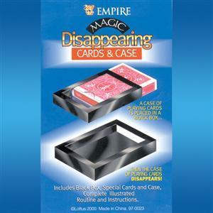 DISAPPEARING CARD CASE-Kaybolan kard kutusu
