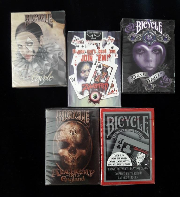 Bicycle-Korku desteleri.Mentalistler için havalı..