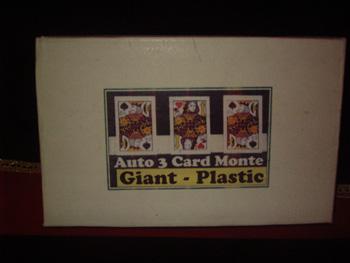 Auto 3 Card Monte (Jumbo)