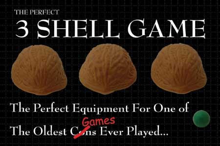 3 shell game..3 ceviz kabuğu oyunu.