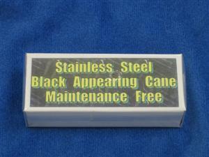 Appearing Cane(siyah renkli metal varolan baston