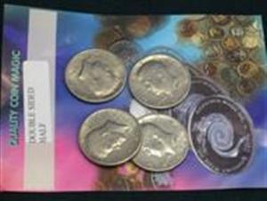 Double  sıded coıns- half dolar  (çift yüzlü para)