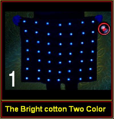 Bright Cotton Two color- Işıklı mendil